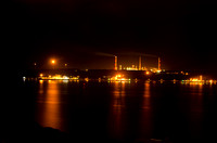 Milford Haven Oil Refinery at Night